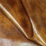 I materiali di tappezzeria della mobilia di alta qualità hanno impresso Microfiber