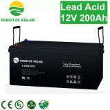 3 anni della garanzia di batteria solare 200ah di memoria acida al piombo libera di trasporto 12V