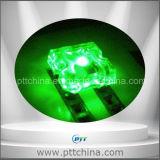 LED de Piranha de Cor Verde, LED de Piranha Plana, Luzes de Piranha Auto, LED Super Fluxo