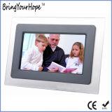 Bâti acrylique de photo numérique de fonction simple de 7 pouces (XH-DPF-070S1)