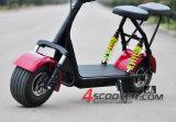 2016 Hete Verkopende Elektrische Autoped Harley Citycoco met de Voor en Achter Dubbele Opschortingen van de Schok
