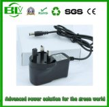 Adaptateur intelligent du prix usine 100V-240V AC/DC pour la batterie au sujet du chargeur de la batterie 8.4V2a