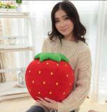 Juguete suave relleno fruta de la fresa