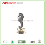 [بولرسن] زخرفيّة قشرة قذيفة تمثال صغير مع قاعدة سوداء لأنّ زخرفة بيتيّة