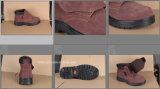 スエードの革またはそぎ皮の甲革が付いているサンダルの安全靴