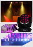 CREE DEL du faisceau 120 4in1 RGBW de Rasha avec l'intense lumière principale mobile de faisceau du luminosité DEL pour l'événement d'usager de disco d'étape