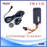 Traqueur de véhicule de GPS avec le positionnement de écoute de voix (TK116)