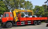Dongfeng 6*4 10 Wielen de Vrachtwagen van 15 T Opgezet met de Prijs van de Kraan van 8 T XCMG