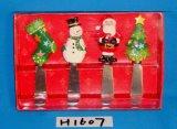 Verspreider met het Rode Handvat van de Vogel voor de Decoratie van Kerstmis