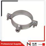 Braçadeira de tubulação de suspensão resistente do ferro de molde dos encaixes de tubulação do metal