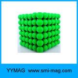 Magnete 5mm dei monili 216 sfere Bucky della sfera del magnete di PCS