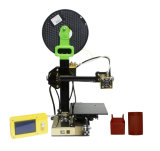 Machine van de Printer Fdm van de Transformator van de stijging de Mini Draagbare Gemakkelijke Werkende 3D