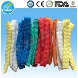 Protezione non tessuta variopinta della clip, protezioni a gettare della calca