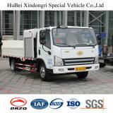 elektrische Vrachtwagen van het Vervoer van de Levering van het Vat van het Huisvuil 2.5ton FAW de Euro 6 Dragende