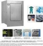 Autoclave de pulsação do vácuo para o desperdício médico