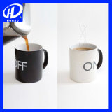 Cheap Logo imprimé Heat Sensitive Color Changing Mug