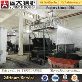 6000kg 6ton por o carvão da pressão da hora 1.6MPa despediu Reciprocating a caldeira de vapor da grelha