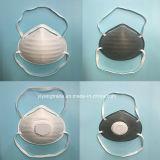 Máscara de polvo de la taza de 3 capas con Niosh N95 Ffp2 aprobado