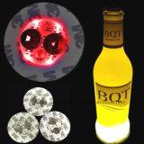LED Pegatina de encargo la botella de cerveza con el logotipo impreso (4040)
