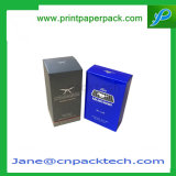 Impresa personalizada PVC Cosméticos Perfume Fancy caja de embalaje
