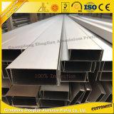 Pipe en aluminium anodisée en gros d'aluminium de profil de la Chine