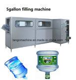 Автоматическая цилиндра 5 галлонов питьевой воды розлива завода для 450 bph наполнения