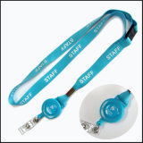 Plastic / Metal Retractable Custom ID Card Holder Emblema Reels Yoyo para Lanyards