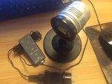 Свет проекции лазера этапа красного зеленого рождества МНОГОТОЧИЯ IP65 миниый