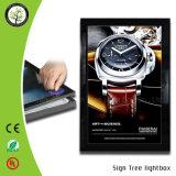 ライトボックスを広告する細いLED磁気フレーム