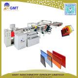 플라스틱 PMMA 기계를 만드는 아크릴 방풍 유리 색깔 널 또는 위원회 압출기