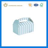 Rectángulo de plata del aguilón de la tarjeta de papel como crea para requisitos particulares (con la maneta cortada con tintas)