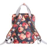 Sac à dos imperméable à l'eau Floral Canvas School (99190)