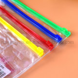 Sac à stylos PVC personnalisé, sac à provisions en PVC, sac à crayons en PVC