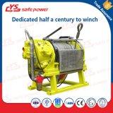Functie tegen explosies de Kruk van de Motor van de Lucht van 5 Ton met de Kabel van het Staal