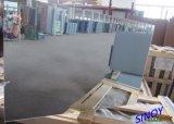 최신 판매! 3mm 알루미늄 미러 유리 1830년 x 2440mm, 자전관 침을 튀기기 진공 코팅 기술에 이중 코팅
