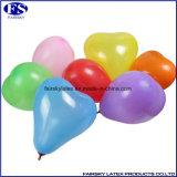 印刷されたハート形の気球の自然な乳液