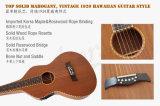 Guitarra havaiana elétrica de Weissenborn do tipo de Aiersi com 4 a faixa EQ