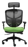 머리 받침 회전대 컴퓨터 나일론 높은 기본적인 사무실 의자 (LDG-840A)를 가진 현대 뒤 방석 사무실 의자