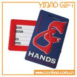 PVC de alta calidad de equipaje de la etiqueta de la caída Logo Customed (YB-HR-39)
