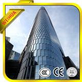 Baixo-e vidro isolado reflexivo para fachadas do edifício