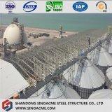 Завод ферменной конструкции стальной структуры промышленный с штольн
