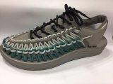 2017 pattini elastici del sandalo di nuovo disegno del tessuto di