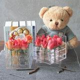 9本のばらのための贅沢なハンドメイドのアクリルのローズの花ボックス