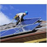 Painel solar de alta eficiência com poluição de células solares de uma categoria livre com TUV