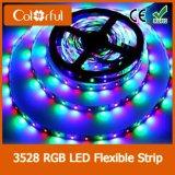 Streifen der Blasen-Verpackungs-DC12V RGB SMD3528 LED