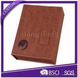 Boîte cadeau en cuir Magetic élégant Design PU élégante