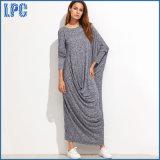 100% coton Mullin longue robe pour la robe de mode