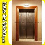 装飾的なエッチングのステンレス鋼のエレベーターのドアのパネルの装飾