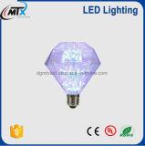 CE estrelado do bulbo D95/ST64 2W do diodo emissor de luz, UL, bulbo de RoHS colorido para a decoração Home