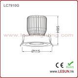 Vertieft PFEILER LED Decke Downlight LC7910g installieren 10W